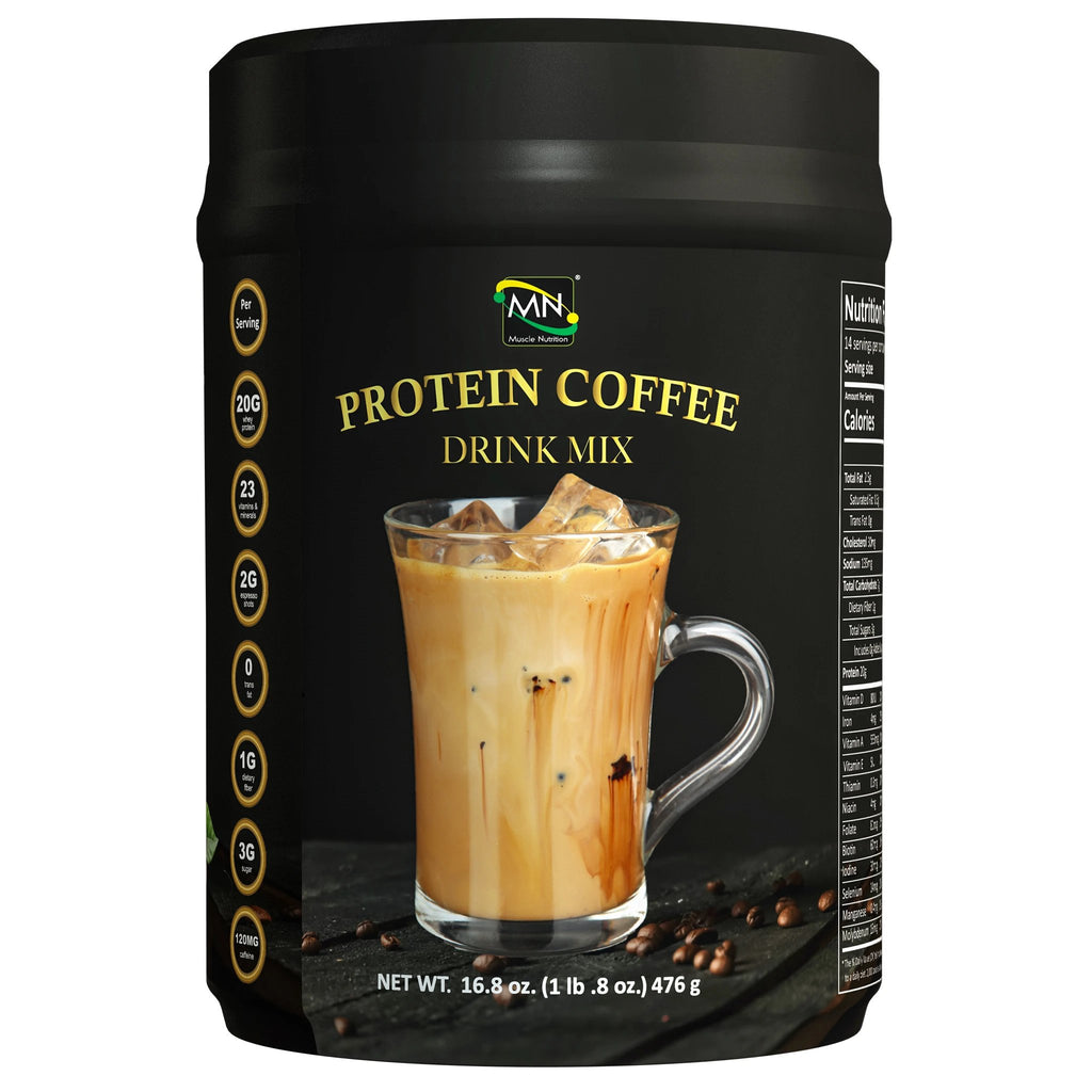 Coffee Protein Drink Mix-Shrinktoning