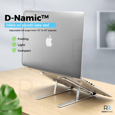 D-Namic™ | Foldable and adjustable laptop stand