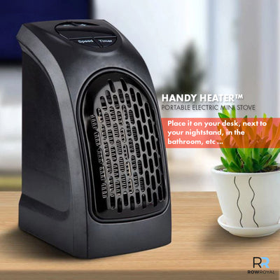 HANDY HEATER ™ - PORTABLE ELECTRIC MINI STOVE