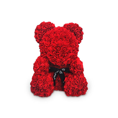 Rose Teddy Bear Gift Box