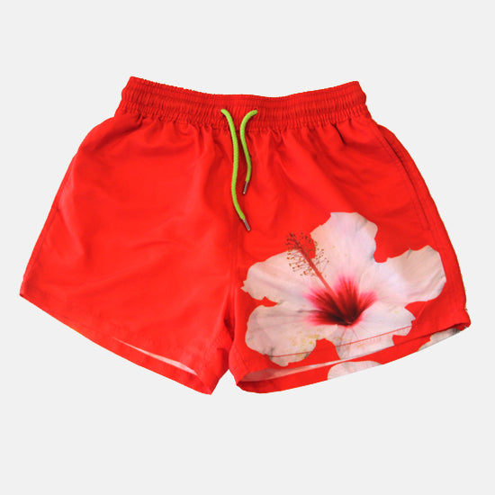 Red Hibiscus Trunks