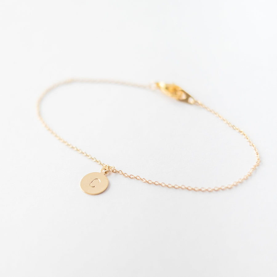 Personalised Initial Letter Bracelet