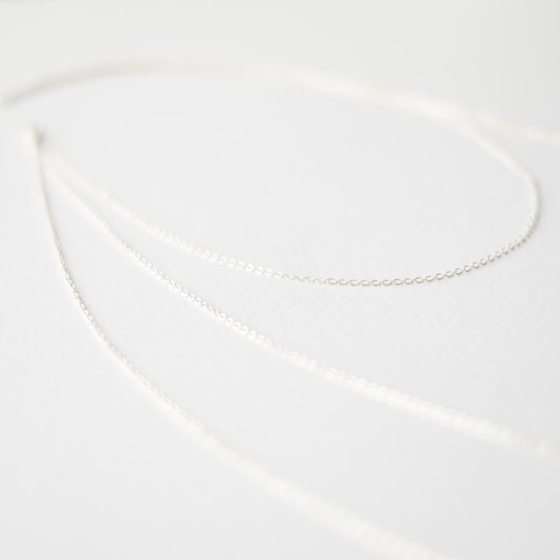 Three Layer Silver Necklace