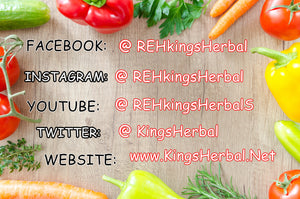 Kings Herbal Food Supplement by REH