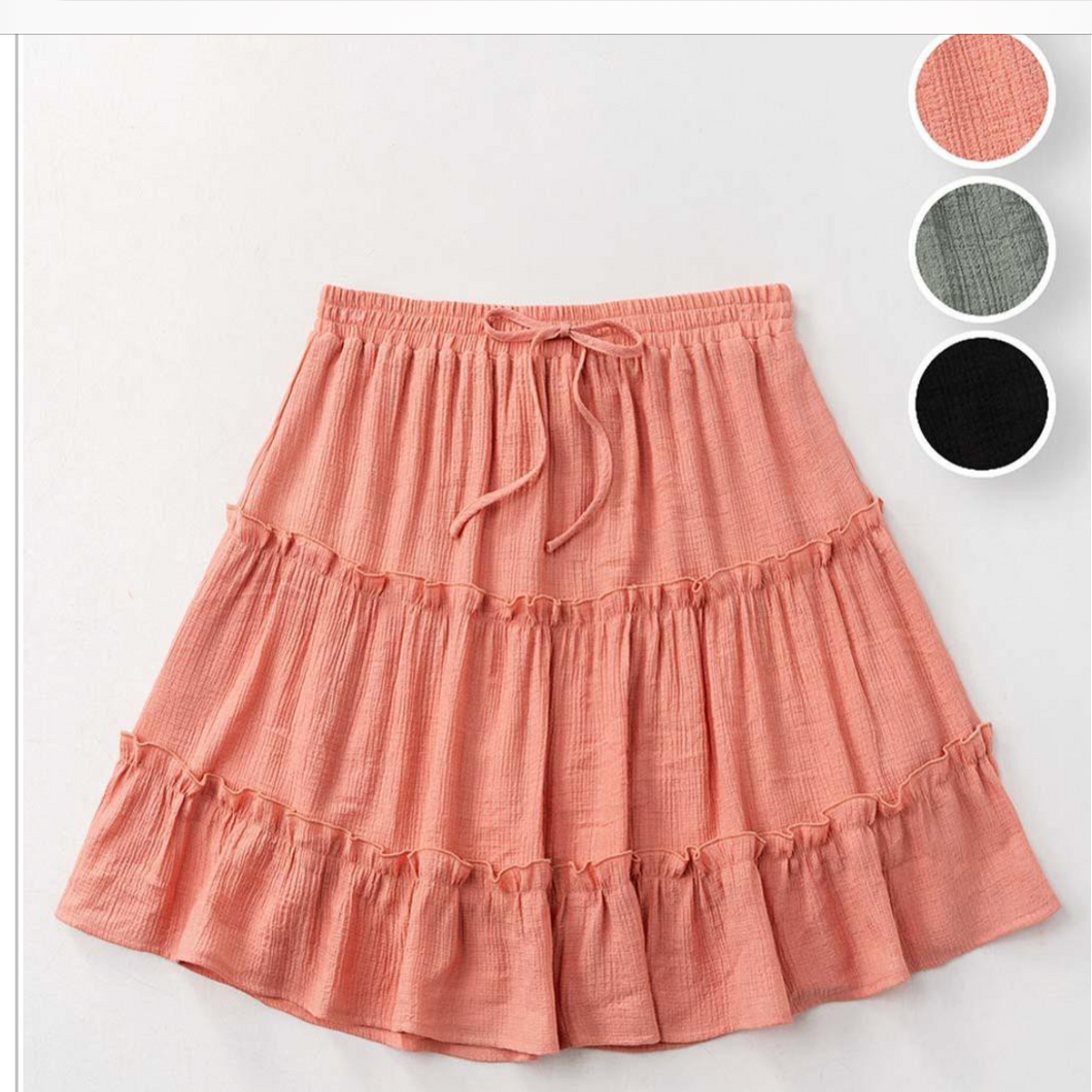 Skirt - Coral