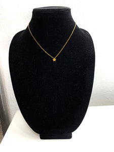 Necklace - Gold Single Star