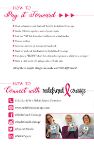Redefined Courage - Cancer Charity
