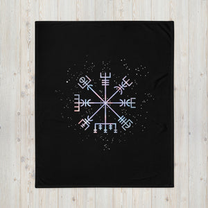 Vegvisir Throw Blanket