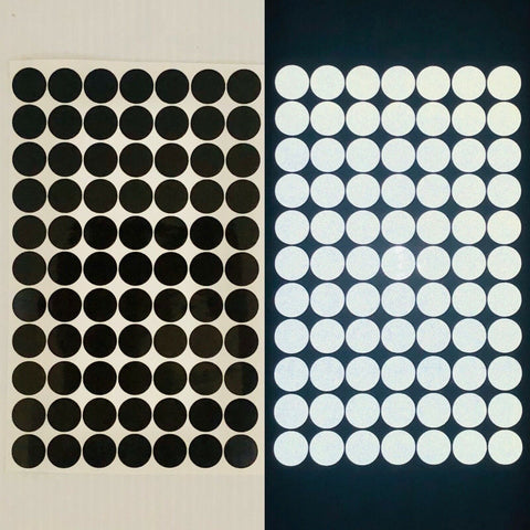 "77 Reflective Black Dots 3/4"" - Reflective Pro"