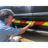 Reflective Chevron Rocker Panels & Pinstripe - ReflectivePro