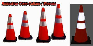 "Reflective Cone Collars 18"" 28"" 36"" - ReflectivePro"