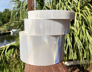 "High Intensity Prismatic ""HIP"" White - ReflectivePro"