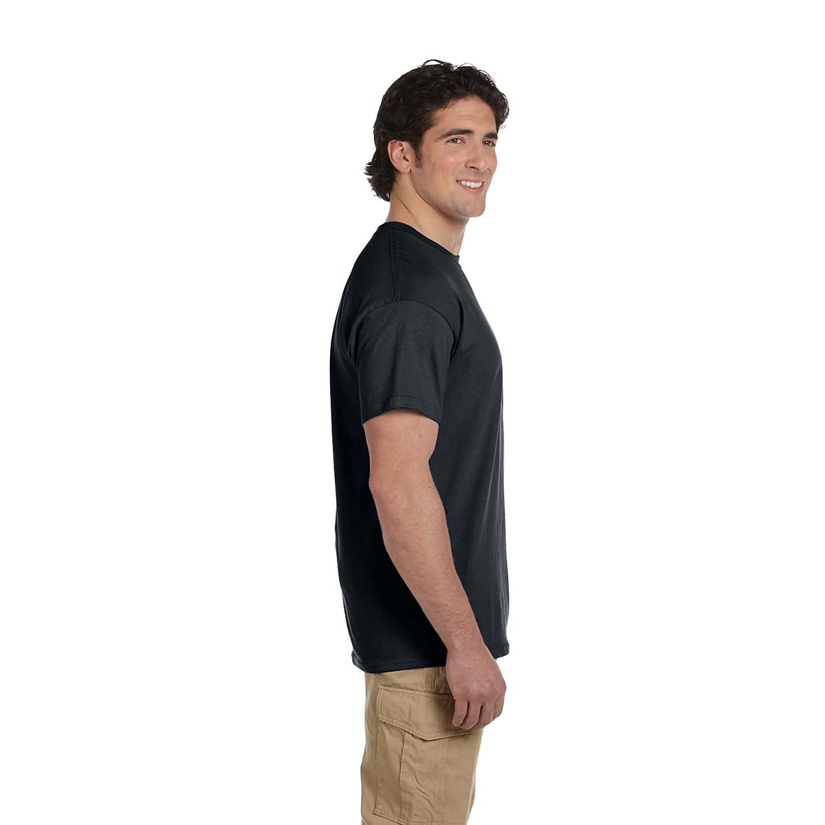 Fruit of the Loom Men's T-Shirt / 3931-Black