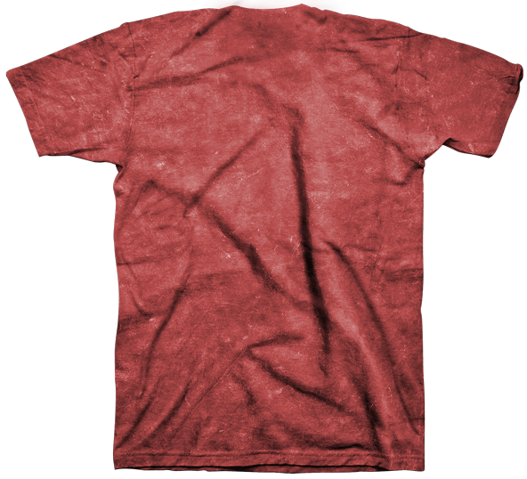 Mineral Wash Red.
