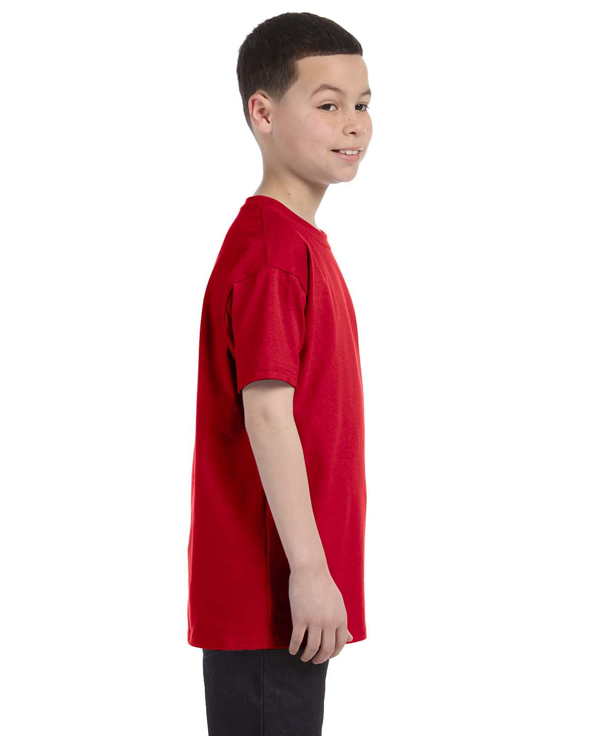 Gildan Kids' T-Shirt / G500B-Red
