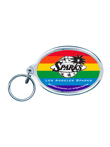 Los Angeles Sparks Pride Acrylic Keychain
