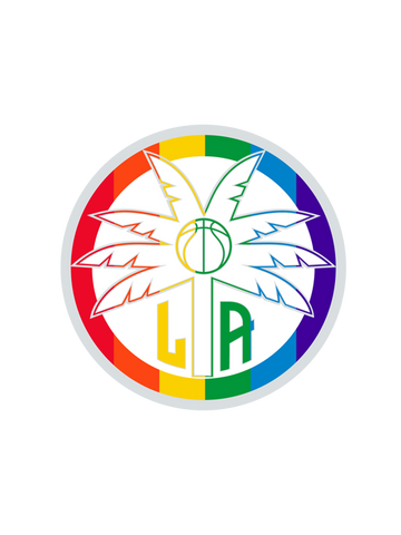 Los Angeles Sparks Pride Collector Pin