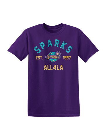 Los Angeles Sparks All 4 LA T-Shirt