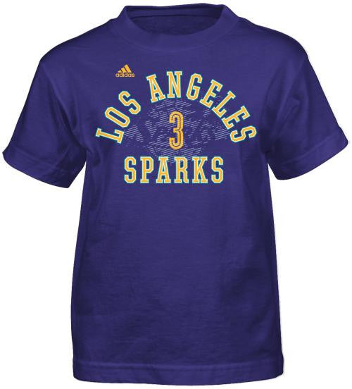 865af2a3bf0 Los Angeles Sparks Candace Parker Role Call Kids T-Shirt (available in  2T-YXL)