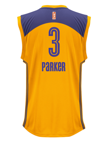 Los Angeles Sparks Parker Replica Home Jersey