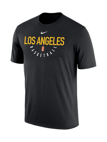 Los Angeles Sparks Dri-Fit Practice T-Shirt -Black