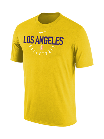 Los Angeles Sparks Dri-Fit Practice T-Shirt - Gold