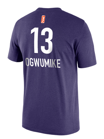 Los Angeles Sparks Chiney Ogwumike Primary Logo Player T-Shirt