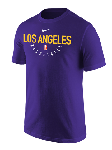 Los Angeles Sparks Practice Core Cotton T-Shirt - Purple