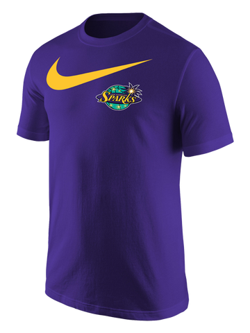 Los Angeles Sparks Big Swoosh Core Cotton T-Shirt