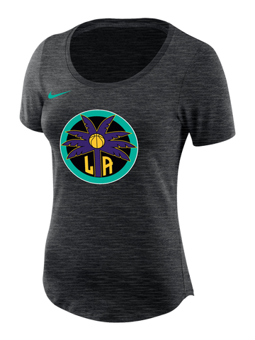 Los Angeles Sparks Women's Palm Dry Slub T-Shirt