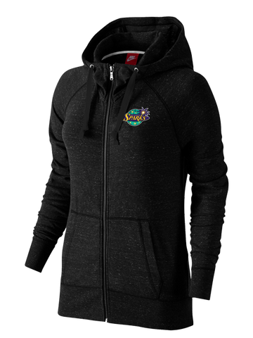 Los Angeles Sparks Women's Gym Vintage Full Zip Hoodie