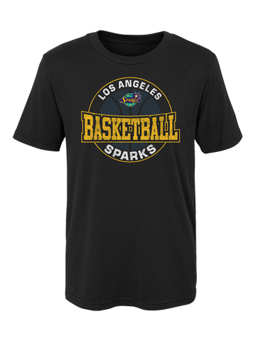 Los Angeles Sparks Kids Rubber Stamp T-shirt