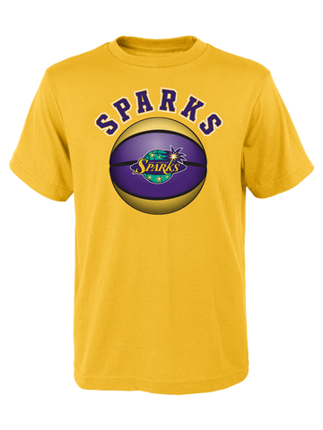 Los Angeles Sparks Kids Bold View T-Shirt