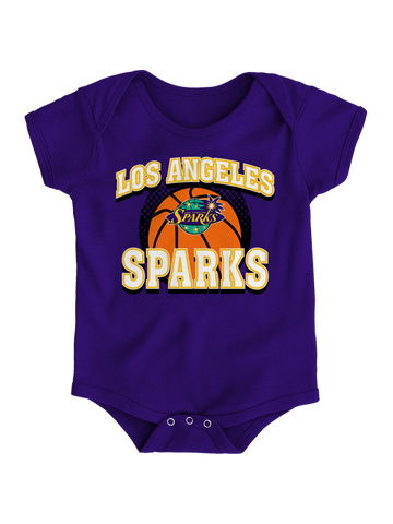 Los Angeles Sparks Infant Meshback Onesie
