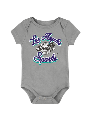 Los Angeles Sparks Infant Curved Creeper