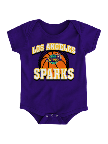 Los Angeles Sparks Newborn Mesh Back Onesie