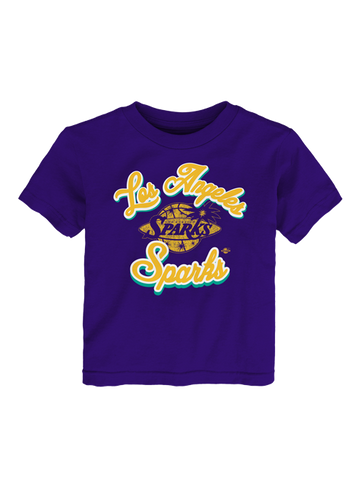 Los Angeles Sparks Toddler Curved T-Shirt
