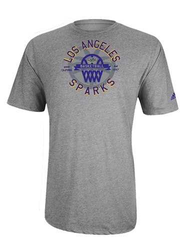 Los Angeles Sparks Classic Basket T-Shirt