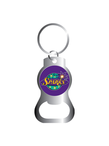 Los Angeles Sparks Bottle Opener Key Ring