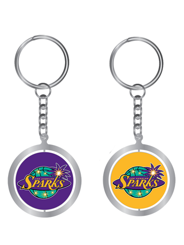 Los Angeles Sparks Spinning Key Chain