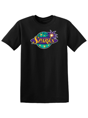 Los Angeles Sparks Basic Logo Short Sleeve T-Shirt
