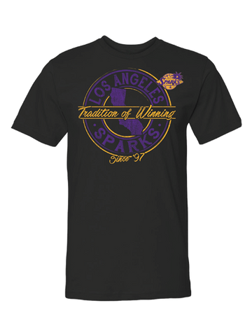 Los Angeles Sparks Tradition of Winning T-Shirt