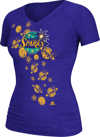 Los Angeles Sparks Women's Sidework T-Shirt