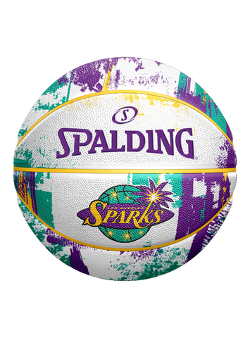 Los Angeles Sparks Marble Rubber Ball