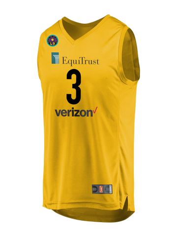 Los Angeles Sparks Candace Parker Home Replica Jersey