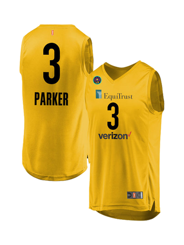 963b2b9fafb Los Angeles Sparks Candace Parker Youth Home Replica Jersey
