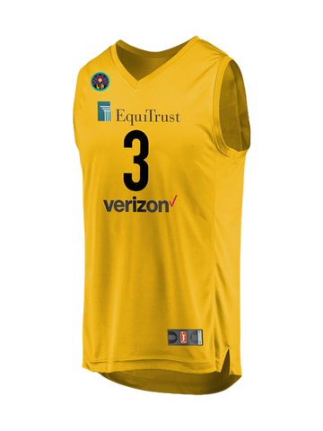 Los Angeles Sparks Candace Parker Youth Home Replica Jersey