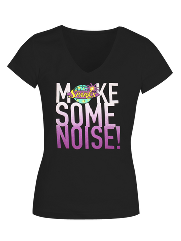 Los Angeles Sparks Make Some Noise V-Neck T-Shirt