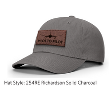 Load image into Gallery viewer, Pilot to Pilot Dad Hat (Tan Patch)