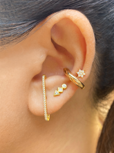Load image into Gallery viewer, Aztec Studs Gold | Gold Plated 925 Sterling Silver